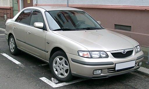 Mazda 626 front 20071204