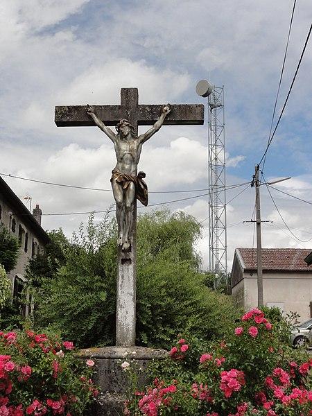 Mazerulles (M-et-M) croix de chemin