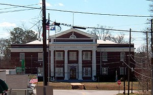 McCormick County Courthouse in McCormick