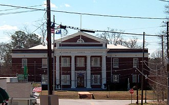 McCormick County, South Carolina - Image: Mc Cormick SC courthouse