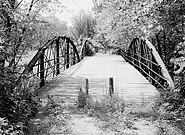McGilvray Road Bridge No. 1, Van Loon Wildlife Area, La Crosse vicinity (La Crosse County, Wisconsin)