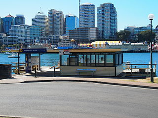 McMahons Point ferry wharf Sydney Ferries ferry wharf