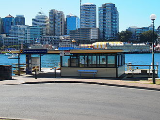 McMahons Point - The McMahons Point ferry wharf