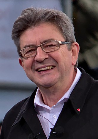 French presidential election, 2022 - Image: Meeting Mélenchon Toulouse 2017 04 16 Jean Luc Mélenchon 41 (cropped 2)