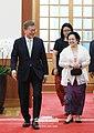 Megawati Sukarnoputri visit to Cheongwadae 2017 (11).jpg