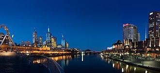 Rove (TV series) - Image: Melbourne yarra twilight