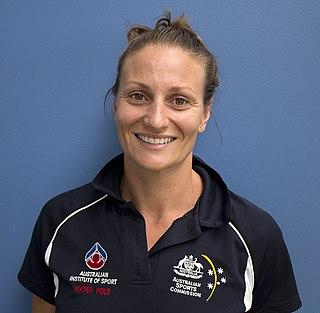 Melissa Rippon water polo player