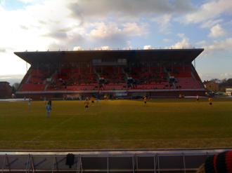 Melløs Stadion - The grandstand