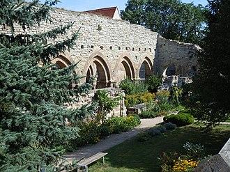 Memleben - Memleben Abbey Church ruins