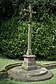 Memorial cross, Brockhampton churchyard - geograph.org.uk - 1308742.jpg