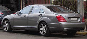 Mercedes-Benz S-Class (W221) - 2009 facelift