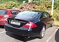 Mercedes CLS German Temporary plate (40926931920).jpg