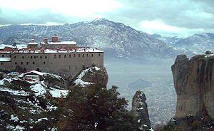 Meteora Klöster Karte.Meteora Reiseführer Auf Wikivoyage