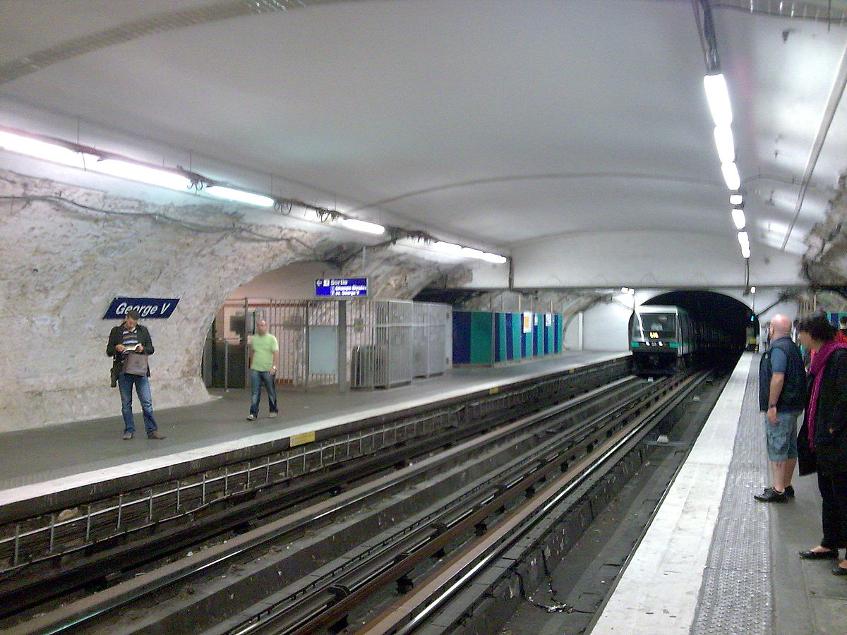 George V (Paris Métro) - Wikipedia