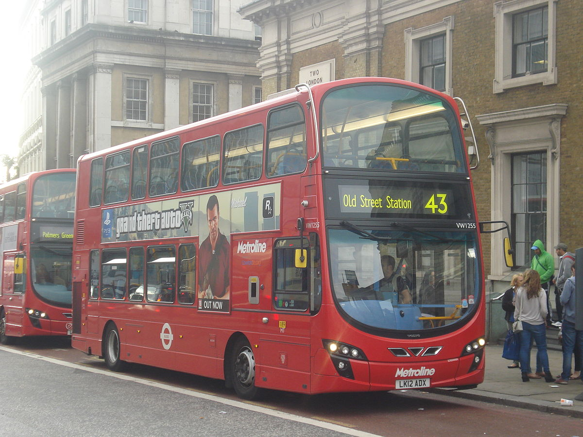 london buses route 43 - wikipedia