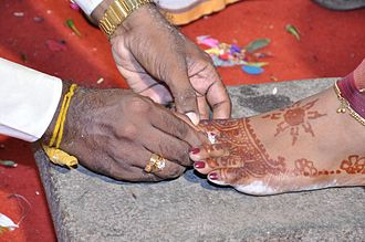 Toe ring - Indian Toe ring