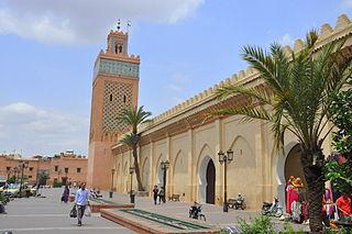 Kasbah Mosque (Marrakech) building in Morocco