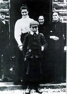 Michael Collins at 8 years old