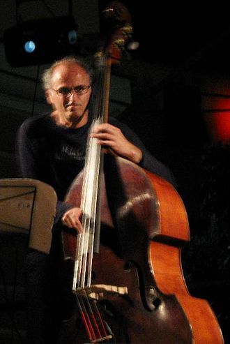 Michel Benita - Michel Benita at a jazz festival in 2008
