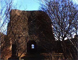 Michelsburg im Jahr 1983