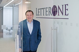 Mikhail Fridman - Image: Mikhail Maratovich Fridman at L1 in 2015