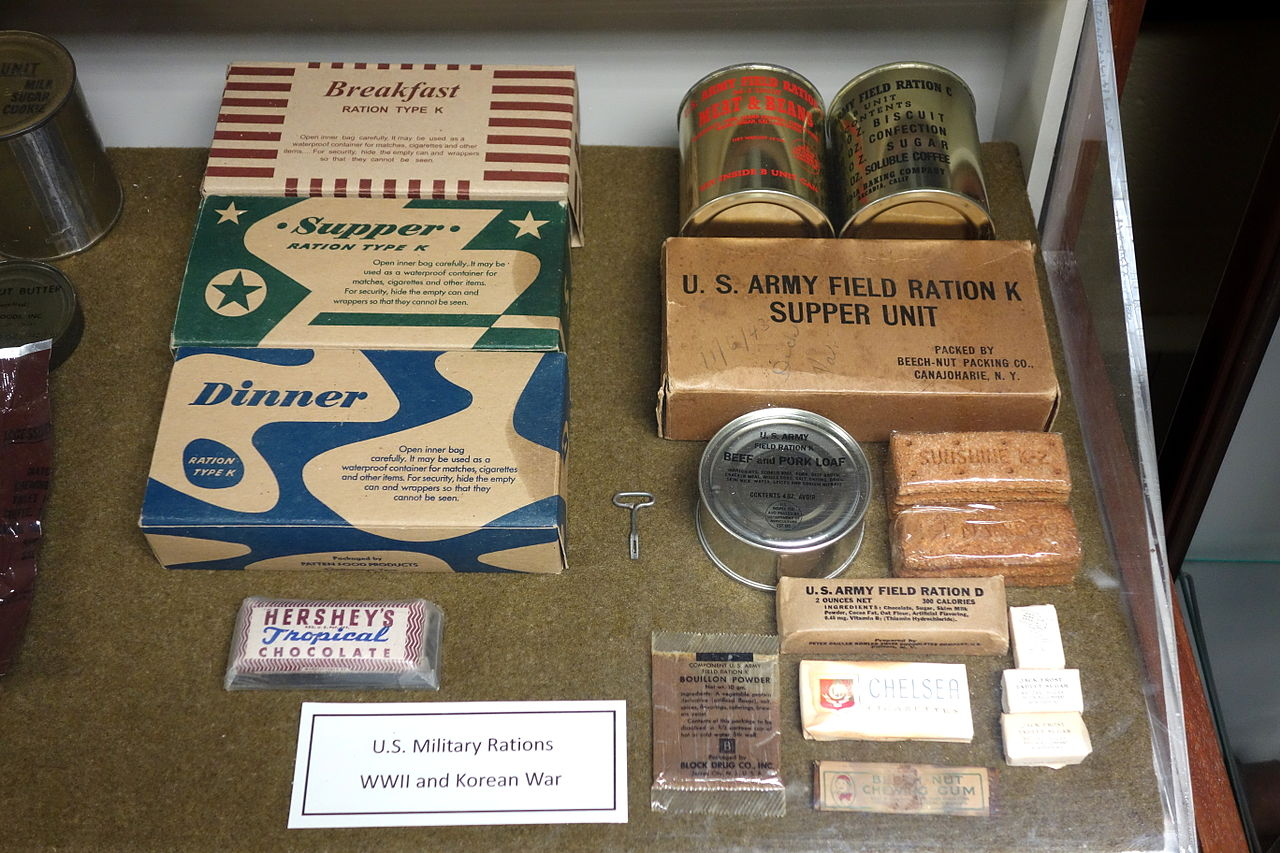 File Military Rations World War Ii And Korean War Fort