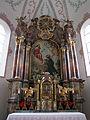 Mindelau - St. Jakobus der Ältere - Hochaltar (2).JPG