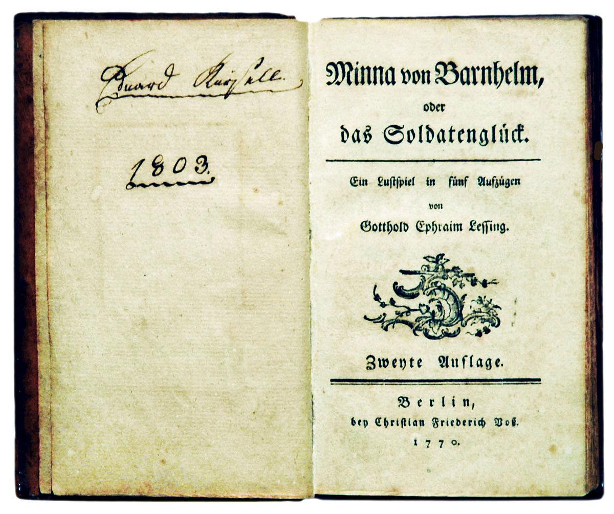 Minna Von Barnhelm –