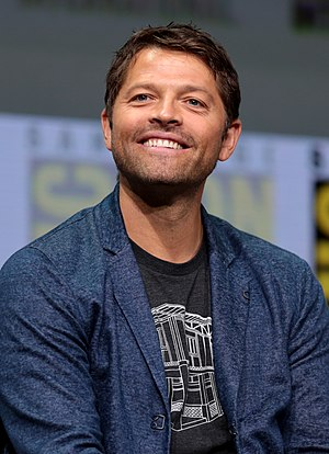 Misha Collins - Collins at the 2017 Comic Con in San Diego
