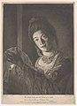 "Miss Lydia Hone – ""Her beauty hangs on the Cheek of Night, like a rich Jewel in an Ethiop's Ear"" MET DP858682.jpg"