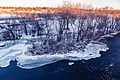 Mississippi River - Winter in Sauk Rapids, Minnesota (24030263982).jpg