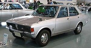 Mitsubishi Galant - 1969 Mitsubishi Colt Galant A II Custom L sedan