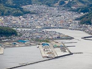 Miyako, Iwate - Downtown of Miyako