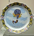 Mlle Blanchard 1819 plate - Udvar-Hazy Center.JPG