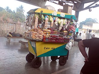 Mobile catering - Mobile catering for Indian railways