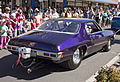 Modified Holden HQ Monaro GTS dragster in the SunRice Festival parade in Pine Ave (1).jpg