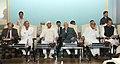 "Mohd. Hamid Ansari at the ""Conference on Federalisms and Localisms at O.P. Jindal Global University, Sonipat and Europaeum, Oxford (U.K.)"", at Sonipat, in Haryana. The Governor of Haryana, Shri Jagannath Pahadia.jpg"