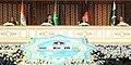 Mohd. Hamid Ansari with the President of Turkmenistan, Mr. Gurbanguly Berdimohamedov, the President of Afghanistan, Mr. Ashraf Ghani and the Prime Minister of Pakistan, Mr. Nawaz Sharif.jpg
