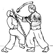 Voici ce qu'est la self-défense :conseil de patoune 180px-Moine_baton0