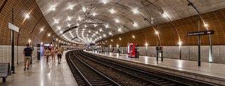 Monaco-Monte-Carlo station Railway station serving the Principality of Monaco
