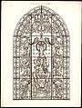 Monografie de la Cathedrale de Chartres - Atlas - Notre Dame de la Belle Verrière - Feuille B Chromo-lithographie.jpg