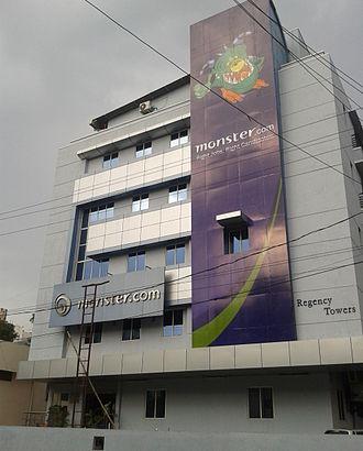 Monster.com - Monster.com's office in Hyderabad, India