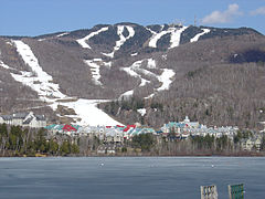 Mont-Tremblant resort and pedestrian village