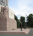 Monument of freedom honour guard.jpg