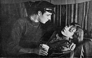 Moran of the Lady Letty - Valentino and Dalton in a scene from the film.