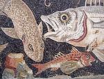 Mosaïque de Pompéi, conservée à Naples