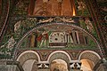 Mosaic of Sacrifice of Abel (left) and Offering of Melchizedek, (right) Basilica of San Vitale, Ravenna (6098688702).jpg