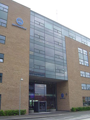 Motorola - Local branch in Glostrup, Denmark