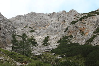 Cold Mountain (Slovenia) - Image: Mrzla gora Latvica