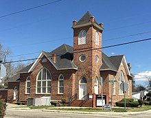 Mt. Olive Baptist Church, 301 Church St., Mullins, South Carolina.JPG